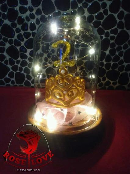 Corona 1er Año Cumpleaños Lampara Souvenir Centro De Mesa