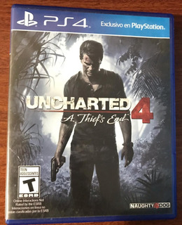 Uncharted 4: A Thief End Ps4