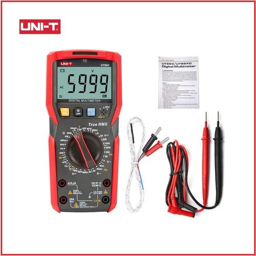 Multitester Multimetro Digital Uni-t Ut89x Ac/ Dc 1000v 20a