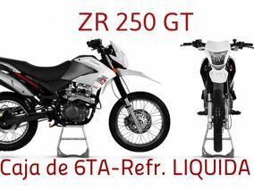 Zanella Zr 250 Gt Aguatera Caja De 6ta 0km