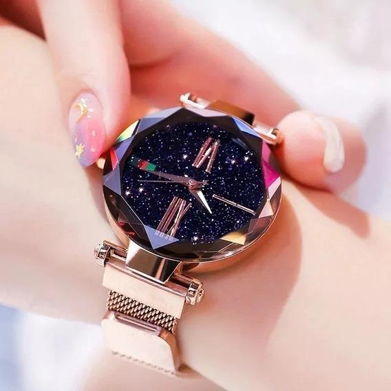 Relógio De Pulso Feminino Céu Estrelado Promoção !!!!!!!!