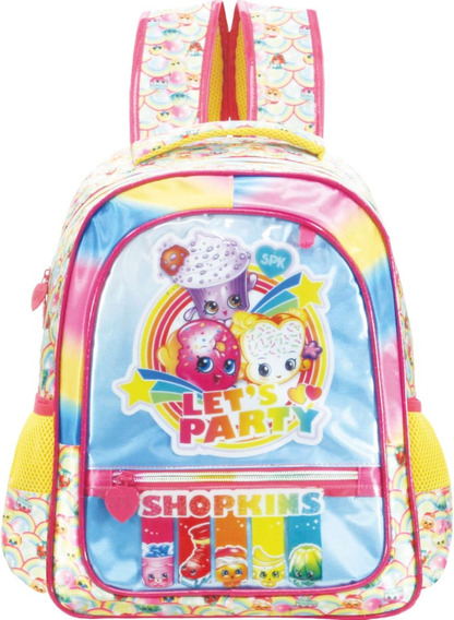 Xeryus Mochila Escolar Shopkins Raibow Party Grande