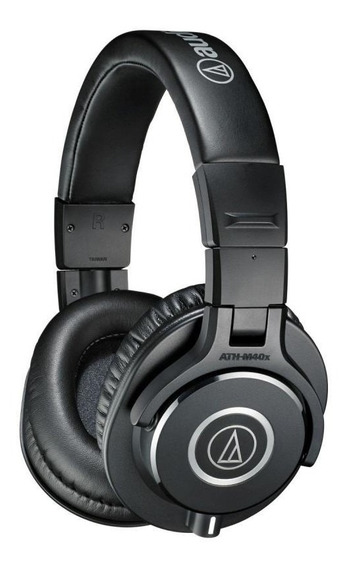 Fone De Ouvido Audio-technica Ath M40x - Preto