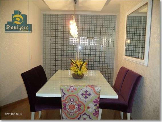 Apartamento Com 3 Dormitórios À Venda, 110 M² Por R$ 799.999,00 - Jardim - Santo André/sp - Ap2286
