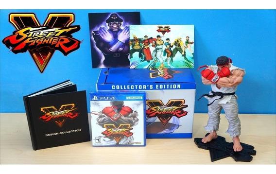 Street Fighter V Collectors Edition - Ps4 Lacrado