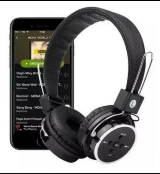 Fone Headphone Bluetooth-fm-micro Sd P2 Jogos