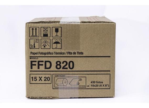 Papel Ffd 820 Para Impressora Mitsubishi Cpd-d80dws