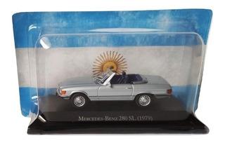 Autos Inolvidables Argentinos N° 99 Mercedes-benz 280 Sl