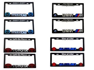 Porta Placas Plastico Honda Jeep Mazda Dodge Varios Modelos