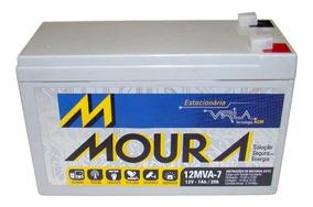 Bateria Moura Nobreak Estacionária Recarregável 12v 7a Ups