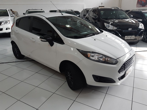 Ford Fiesta Hatch Se Style 2017 Branco 1.6 Flex Mec Ud 38km