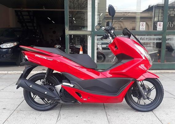 Honda Pcx 150 2018 Rojo