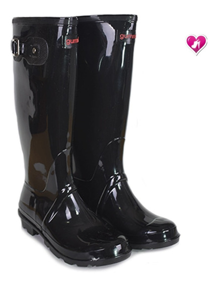 Bota De Lluvia Mujer Gummi Caña Alta By Shoes Bayres