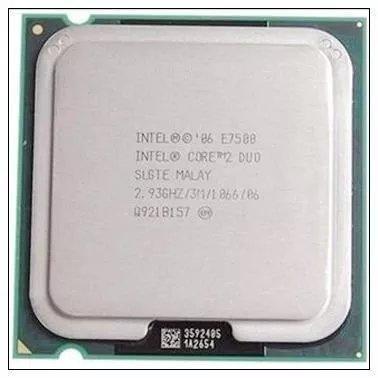 Processador Intel Lga 775 Core 2 Duo E7500 2.93ghz