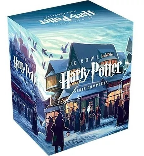 Box Harry Potter De Vitrine - Série Completa