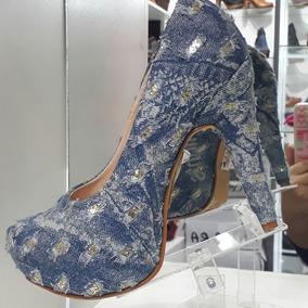 Exclusivo Zapato Jean Plataforma Importado Usa Numero 37