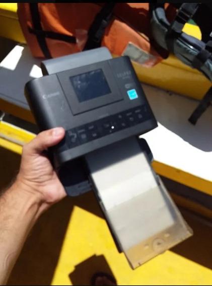 Canon Selphy Cp1200 + Bateria + 50 Folhas E Toner