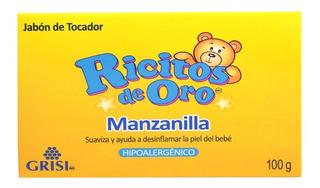 Jabón De Tocador Grisi Ricitos De Oro Manzanilla Hip. 100 Gr