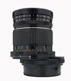 Objetiva Lente 75mm Shift Pentax 67, Controle De Perspectiva