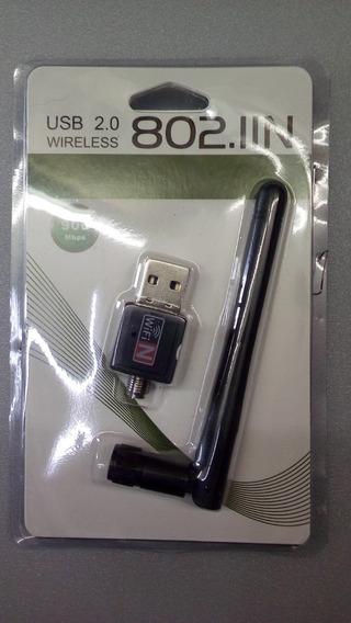 Antena Adaptador Wi-fi Usb 2.0 Wireless 802.lln 900 Mbps