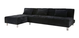 Sala Esquina C/ Sofa Cama Queen Sillon Envío Gratis Muebleco