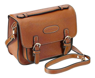 Retro Vintage Pu Leather Bag Compatible Para Polaroid F...