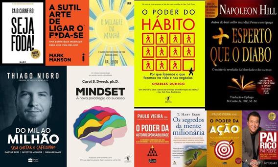Pai Rico Pai Pobre Seja Foda O Milagre Da Manhã + 8 Livros