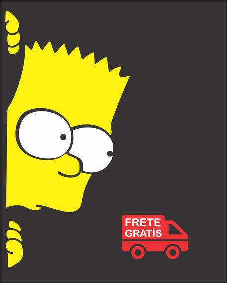 Adesivo Simpsons Barti Vidro Porta Para Caminhão Moda Top