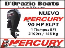 Motor Fuera De Borda Mercury 90 Hp 4 Tiempos 2100cc Dorazio