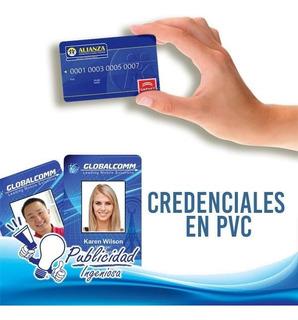 Credenciales En Pvc