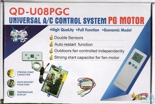 Plaqueta Universal Aire Acondicionado Qd-u08pgc C/capacitor