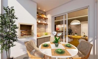 Apartamento Com 2 Dormitórios À Venda, 71 M² Por R$ 305.129 - Terras De Benvira - Tremembé/sp - Ap0018