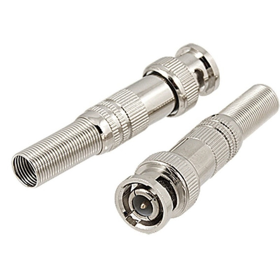 Kit 12 Conectores Bnc , P4 (macho E Femea) S12pb
