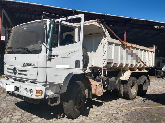 Caminhão Mercedes Benz 2423k Ano 05/05 Com Caçamba Rossetti