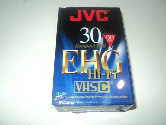Fita Vhs-c Ehg30 Hi-fi Compact Vhs Jvc - Nova