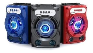 Parlante Portátil Bluetooth Black Point S12 Sd Aux Radio Fm