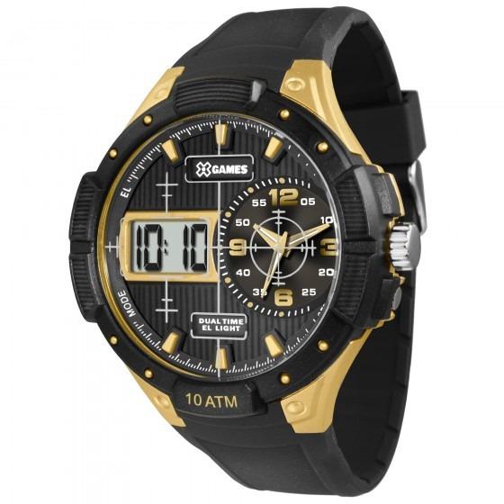 Relógio Xgames Xmppa215 Bxpx Masculino Preto - Refinado