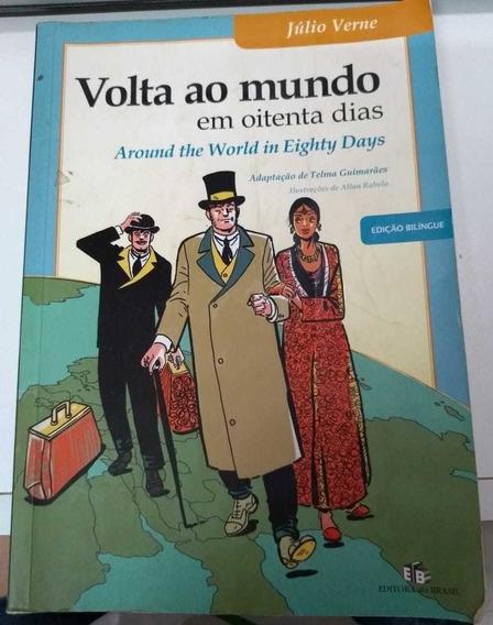 Volta Ao Mundo Em 80 Dias - Versão Bilíngue