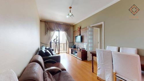 Imagem 1 de 14 de Apartamento Para Compra Com 3 Quartos E 1 Vaga Localizado Na Saúde - Ap53468