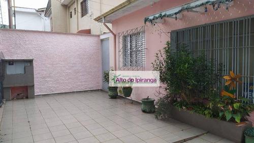 Casa Com 3 Dormitórios À Venda, 300 M² Por R$ 800.000,00 - Ipiranga - São Paulo/sp - Ca0076