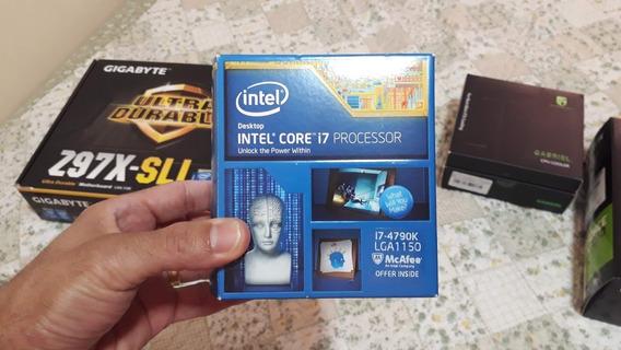 Kit Upgrade I7 4790k Z97x-sli 16gb Ram Cooler Mouse Gamer