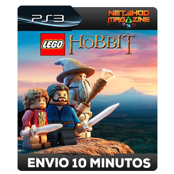 Lego The Hobbit - Psn Ps3 - Envio Imediato