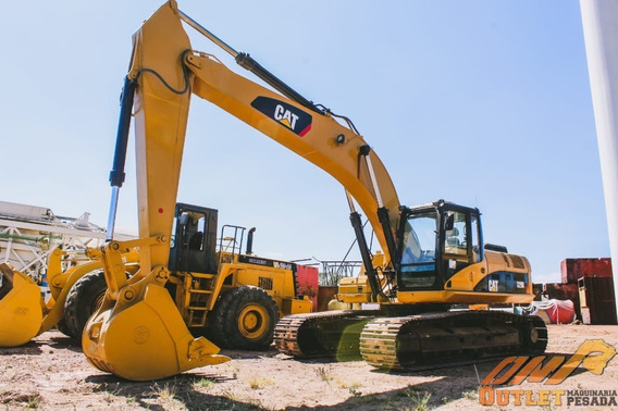 Excavadora Caterpillar 329dl 2009