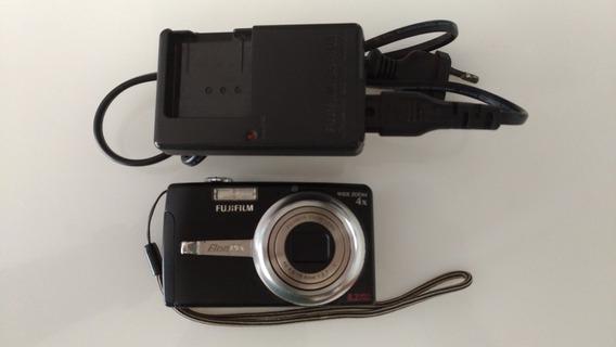 Câmera Fuji Film F480 Zoom 4x 8.2 Mega+ Cartão Sd 2gb