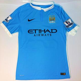Camisa Manchester City Usada Em Jogo #2015/16 #nike #premier