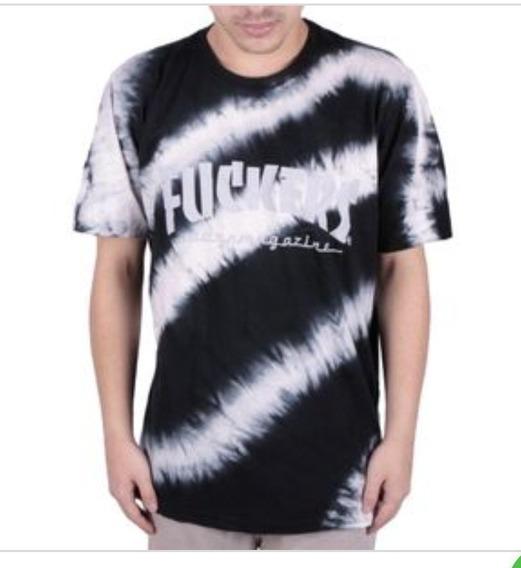 Camiseta Unissex Chronic Tie Dye Fuckers