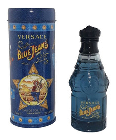 Perfume Blue Jeans Versace 75ml Edt Masc. + Brinde Amostra