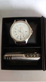 Relógio Lince Analógico Mrc4362s-b2nb Masculino Prata