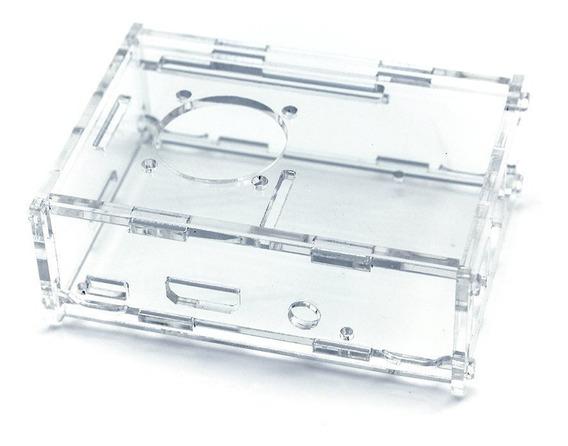 Gabinete Acrilico Transparente Para Raspberry Pi 3 2 +cooler