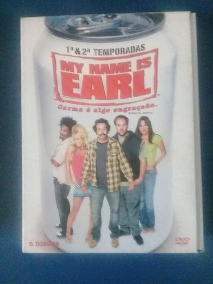 My Name Is Earl - Temporadas 1 E 2 (dvd)